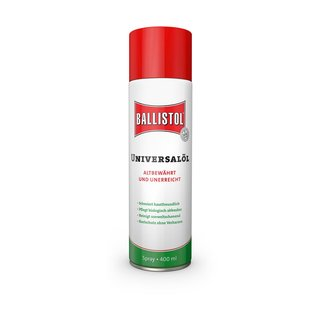 3x 21810 BALLISTOL Spray, 400 ml Universalöl